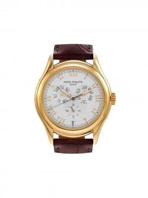Наручные часы Annual Calendar 39 мм 2006-го года Patek Philippe. Цвет: коричневый