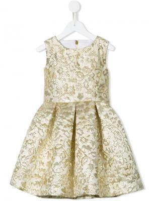 Платье Sona Little Bambah. Цвет: золотистый