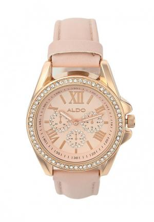 Часы Aldo. Цвет: розовый