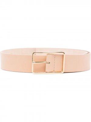 Ремень с прямоугольной пряжкой B-Low The Belt. Цвет: нейтральные цвета