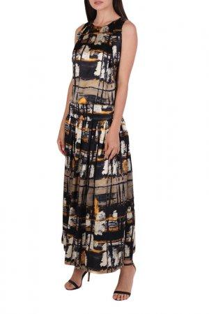 Платье Chapurin. Цвет: желтый