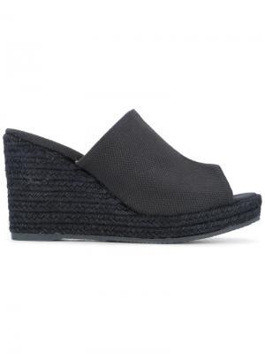 Open-toe wedge sandals Castañer. Цвет: синий