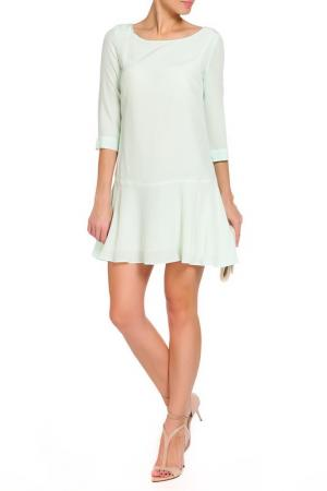 Платье Patrizia Pepe. Цвет: зеленый