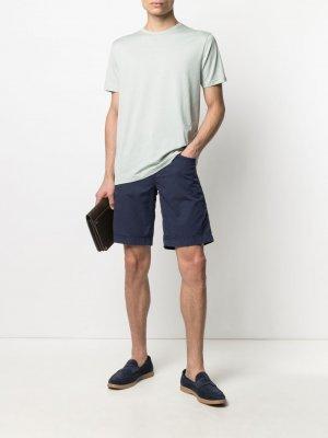 Базовая футболка Sunspel. Цвет: зеленый