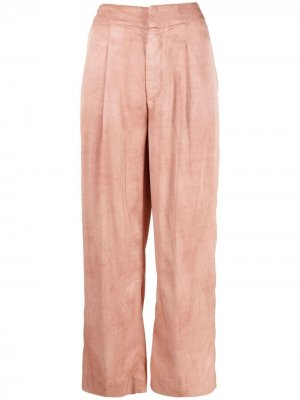 Укороченные брюки с завышенной талией Dondup. Цвет: розовый