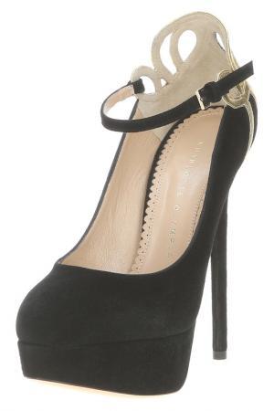 Туфли Charlotte Olympia. Цвет: черный