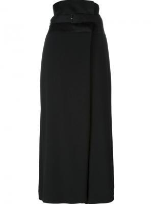 Укороченные широкие брюки Antonio Marras. Цвет: чёрный