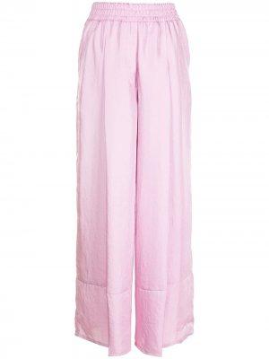 Широкие брюки SJYP. Цвет: розовый