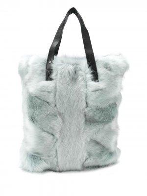 Фактурная сумка на плечо Urbancode. Цвет: синий