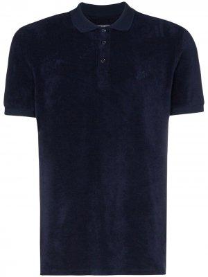 Рубашка-поло Pacific Vilebrequin. Цвет: синий