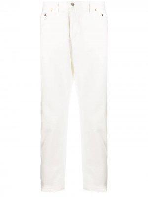 Зауженные джинсы Dorian Harmony Paris. Цвет: белый