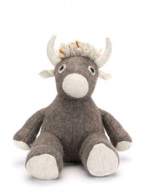 Мягкая игрушка Tsering Yak NORLHA. Цвет: коричневый