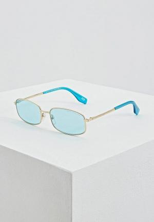 Очки солнцезащитные Marc Jacobs. Цвет: голубой