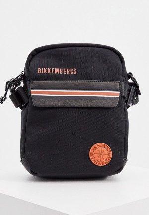 Сумка Bikkembergs. Цвет: черный