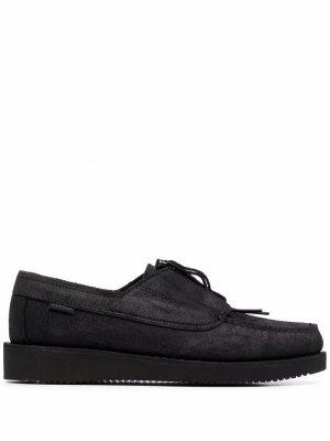 Туфли на шнуровке Sebago. Цвет: черный