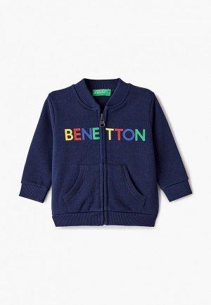Олимпийка United Colors of Benetton. Цвет: синий