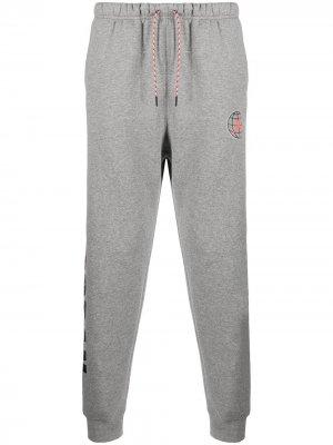 Спортивные брюки с логотипом Jordan. Цвет: серый
