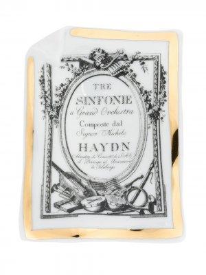 Пепельница Haydn Fornasetti. Цвет: разноцветный