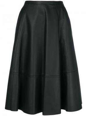 А-образная юбка Drome. Цвет: черный