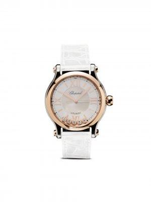 Наручные часы Happy Sport 33 мм Chopard. Цвет: белый