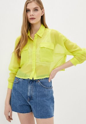 Блуза Noisy May. Цвет: желтый