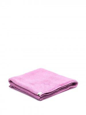 Пляжное полотенце из органического хлопка TEKLA. Цвет: розовый