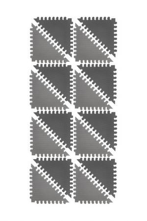 Коврик-пазл FUNKIDS. Цвет: черный
