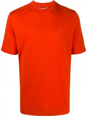 Футболка с логотипом Napapijri. Цвет: оранжевый