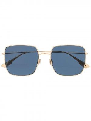 Солнцезащитные очки SoStellaire1 XS в квадратной оправе Dior Eyewear. Цвет: золотистый