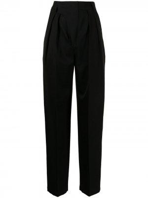 Зауженные брюки с завышенной талией AMBUSH. Цвет: черный