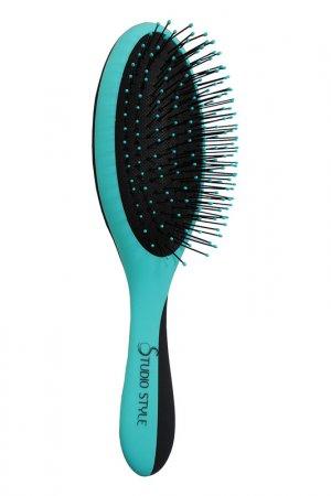Щетка для мокрых волос STUDIO STYLE. Цвет: голубой