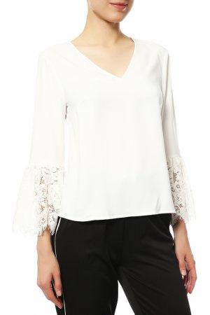 Блуза Almatrichi. Цвет: белый