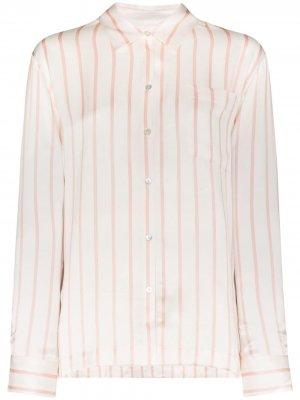 Пижамная рубашка  London Asceno. Цвет: белый