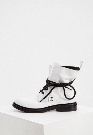 Ботинки Fabi. Цвет: белый