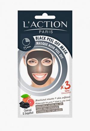 Маска для лица LAction L'Action. Цвет: прозрачный