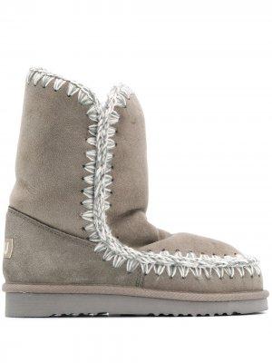 Ботинки Eskimo Mou. Цвет: серый