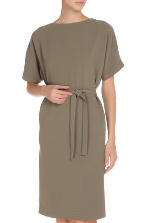 Платье Cyrille Gassiline. Цвет: патиновый