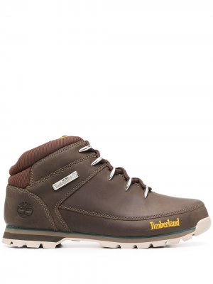 Ботинки Chukka Timberland. Цвет: коричневый