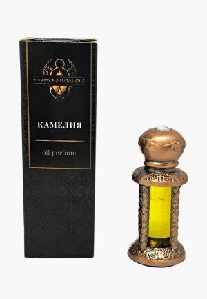 Парфюмированное масло Shams Natural Oils. Цвет: желтый