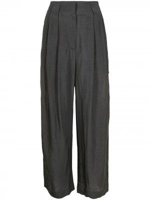 Укороченные брюки прямого кроя Rejina Pyo. Цвет: серый