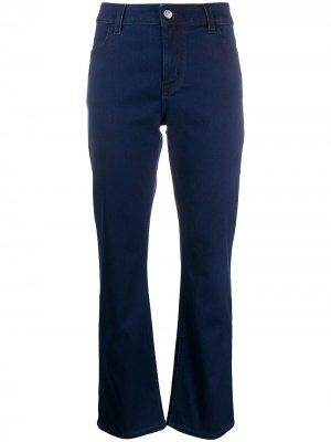 Расклешенные джинсы с завышенной талией Piazza Sempione. Цвет: синий