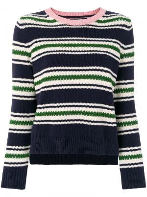 Полосатый свитер Chinti & Parker. Цвет: разноцветный