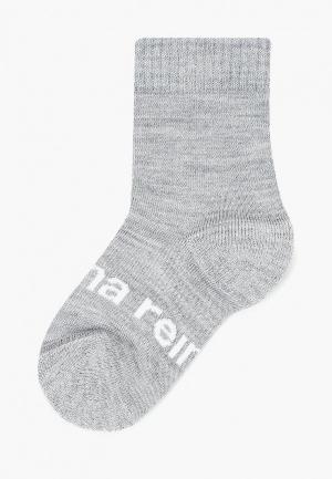 Носки Reima. Цвет: серый