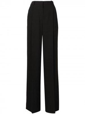 Широкие брюки со складками Sonia Rykiel. Цвет: черный
