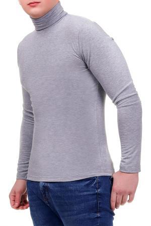 Водолазка Rocawear. Цвет: серый