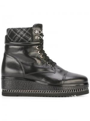 Ботинки на платформе Loriblu. Цвет: чёрный
