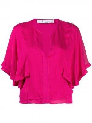 Блузка Celesti IRO. Цвет: розовый