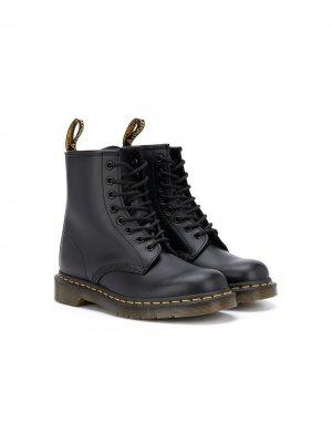 Ботинки по щиколотку Dr. Martens Kids. Цвет: черный
