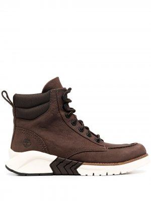 Ботинки M.T.C.R. Moc-Toe Timberland. Цвет: коричневый