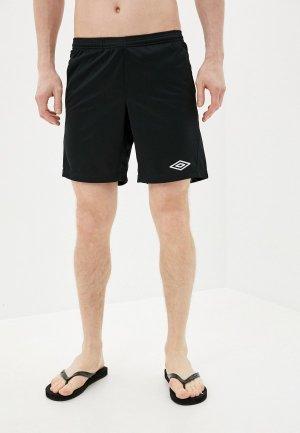 Шорты спортивные Umbro. Цвет: черный